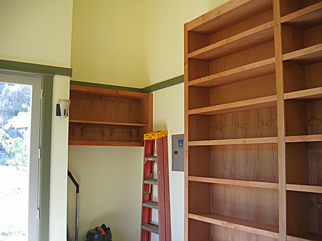 Library-shelf