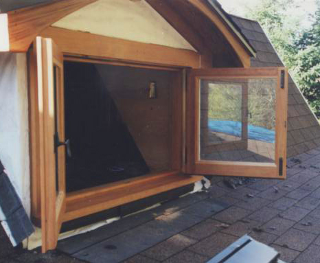 Custom bedroom egress window