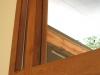 Oak entry transom and side light