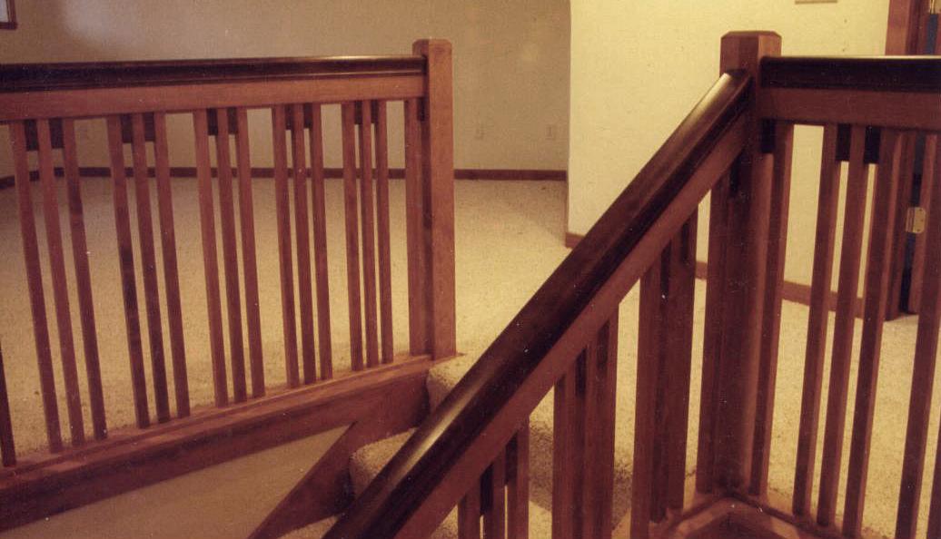 Craftsman style balustrade