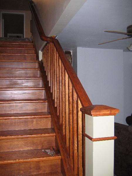Farmhouse stair renovation
