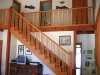 Recoverd Douglas-fir stair and balustrade