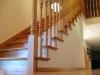 Red oak stair