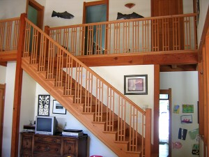 Salvaged Douglas-Fir Stair and Trim